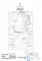 Térképvázlat 15-851560-110 Gemzse